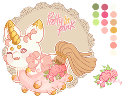 [Pacapillar | MYO] Pretty in pink by ToxicPinku