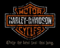 Distressed Harley-Davidson by tcdesigns84