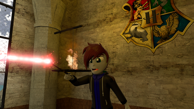 Redesign of Time and Duel at Hogwarts. by EmpireOfTime