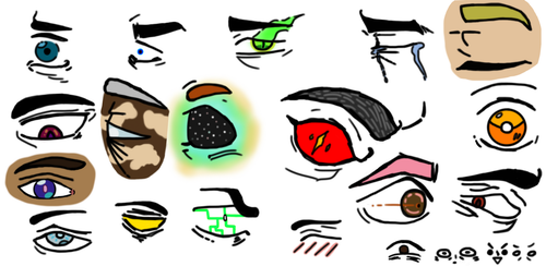 Eyes, but colored by Puggyface200