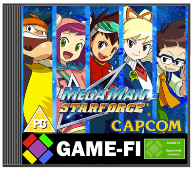Megaman Starforce Game-Fi Cover by LevelInfinitum