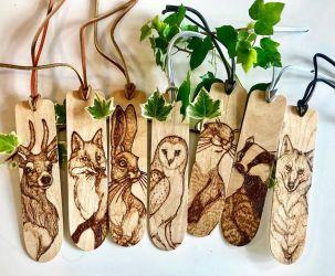 British Animal Bookmarks Revisited by BumbleBeeFairy