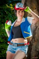 Gotta Catch'em All - Female Ash cosplay by ely707