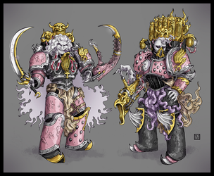 Noise Marine Character Studies by Babymordred121