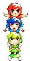 Tri force heroes by kimbolie12