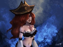 Miss Fortune by ISzopI