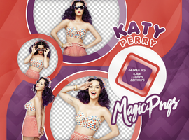 PACK PNG 730| KATY PERRY by MAGIC-PNGS