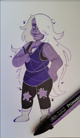 Amethyst by axolotlsketches