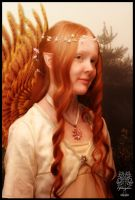 Fairy Portrait by Everild-Wolfden