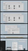 After Light Gold Theme Win10 Creators Update by Cleodesktop