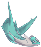 Shiny Latios Commission by AutobotTesla
