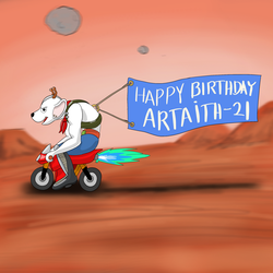 Happy Birthday Artaith-21 by rodrev