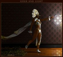 Gold and Light by kobaltkween