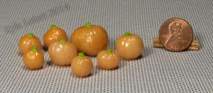 Mini Translucent and Sparkly Fantasy Pumpkins by Kyle-Lefort