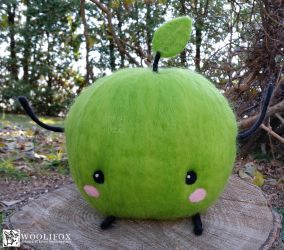[Needle felt] Stardew Valley Junimo by Woolifox