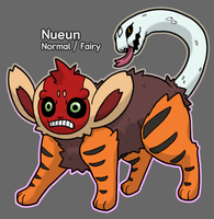 PkMn Golden Silver: Nueun by Midnitez-REMIX