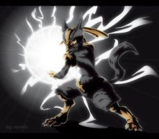 Lucario in vectors by Namh