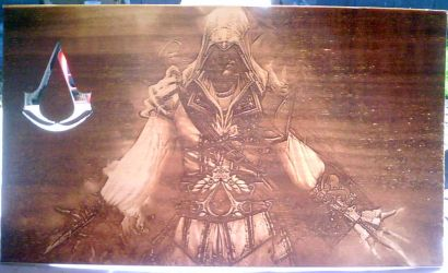 Assassins Creed WoodPic by WoodBoxEdition