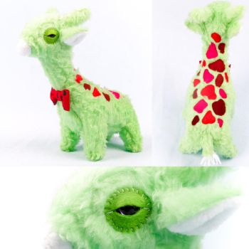 Melon Giraffe by Greencherryplum