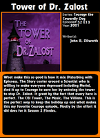 Stocking Rose Admirable - The Tower of Dr. Zalost by Stocking-Star