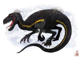 Indoraptor by In-Sine