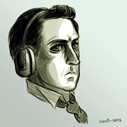 little study of Frederick Chilton's facial express by comuto-sama