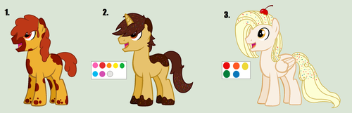 MLP Adopts: 15 points each [CLOSED] by Llamagal21