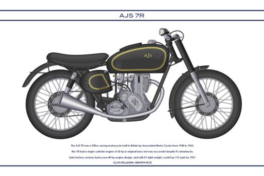 AJS 7R 350 by WS-Clave