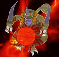Rhyperior's nucleus power