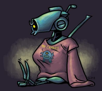 Whirl: Mr Cranky by SueWithers