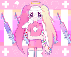 luvcoloredhospital by pawonbelly