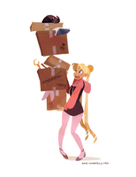 Moving time! by nna