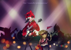 So baby let's just party tonight by VaryStradlin-lml