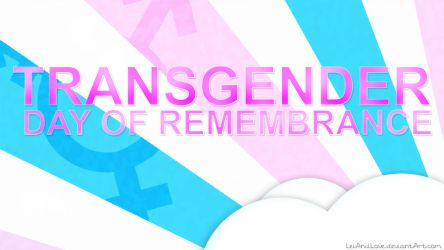 Transgender Day of Remembrance Wallpaper by LeiAndLove