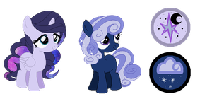TwiLuna Adopts- 20 points each by ThePegasisterPony