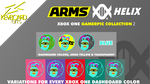 XBOX GAMERPIC - Arms HELIX - Blue by kevboard