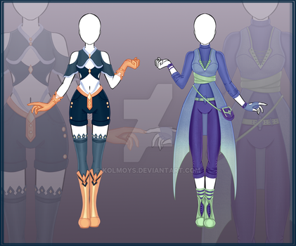 [Close] Adoptable Outfit Auction 17-18 by Kolmoys