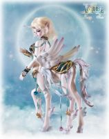 Loong soul doll UNICORN Amalthea by LoongSoul