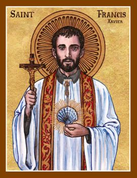 St. Francis Xavier icon by Theophilia