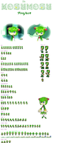 Cosmo the plant sprites EDIT by RainbowthePlant