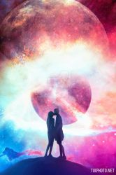 Cosmic Love - Valentine's Day Inspired by RetouchingBlog