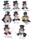 Different Styles of The Penguin by KessieLou