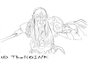0113 - Drow's Battle Cry by TheHOINK
