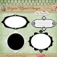 Journal Tags - Label Frames 4 by starsunflowerstudio