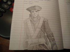 Haytham Kenway - sketch by Countess-Nynke
