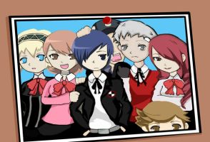Persona 3: The Fool Arcana by signum-crusis
