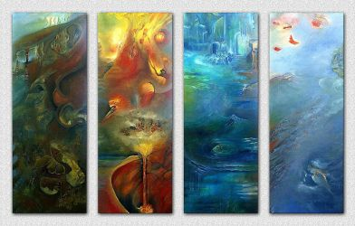 4 elements by Ice-Wulf