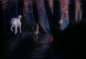 Felvargs- Dark and scary things by deadlylupine