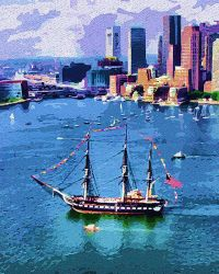 The USS Constitution by peterpicture
