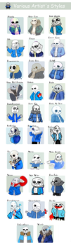 .: Various Artist's Styles :. by Finni-NF